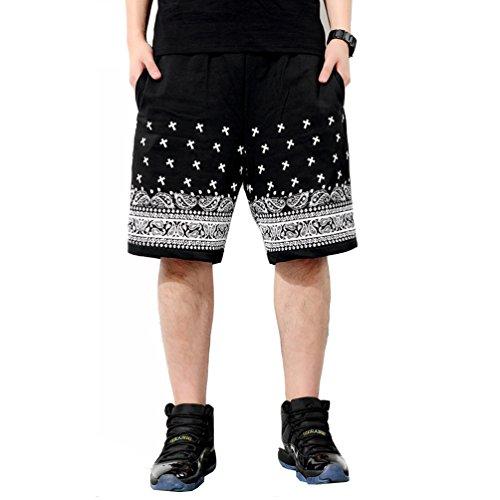 Pizoff Unisex Fashion Hip Hop Dance Sport Basketball Shorts
