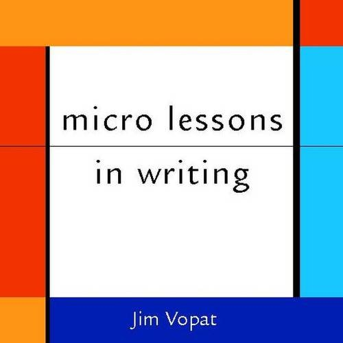micro lessons in writing