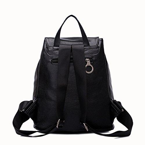 Mode-Modelle Lederhandtaschen College Wind Rucksack