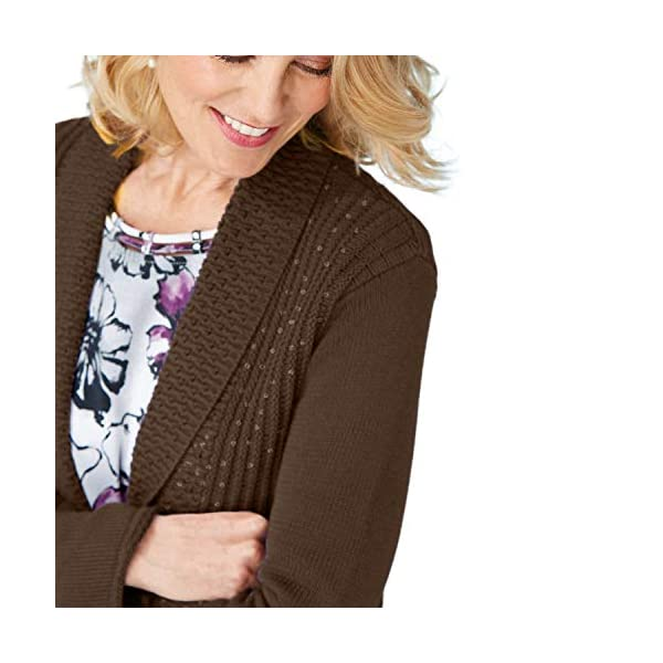 Sequin Cardigan Sweater-Long Sleeve, Open front