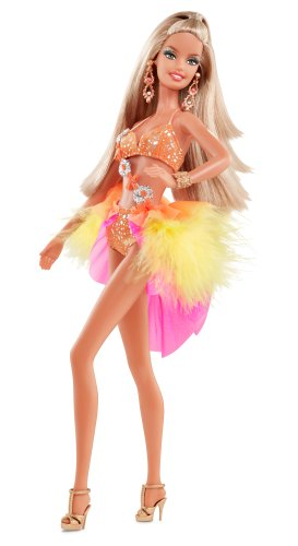 (Barbie Collector Dancing with The Stars Samba Barbie Doll)