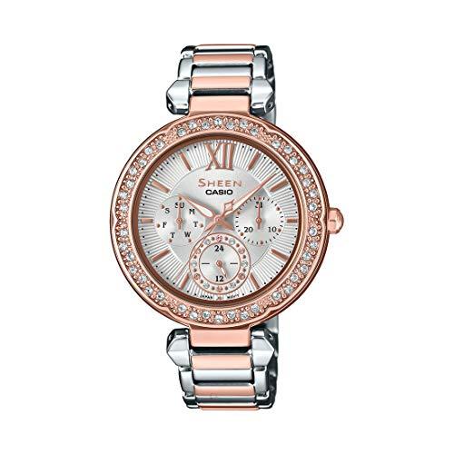 Casio Sheen Analog Silver Dial Women's Watch – SHE-3061SPG-7AUDR (SX213)