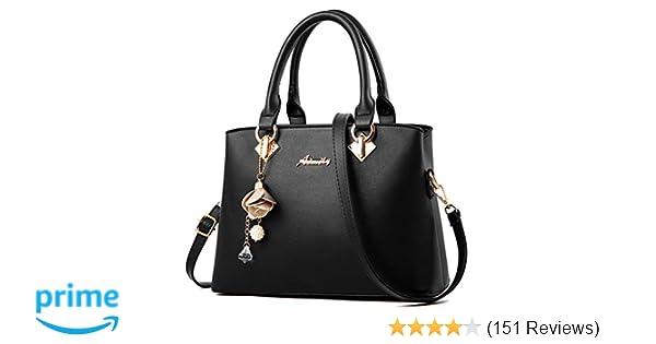 Amazon.com  COCIFER Women Top Handle Satchel Handbags Shoulder Bag Tote  Purses Messenger Bags  Shoes e7c346765fee6