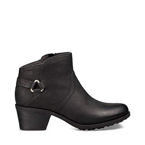 Teva Women's W Foxy Waterproof Boot, Black, 8.5 M US