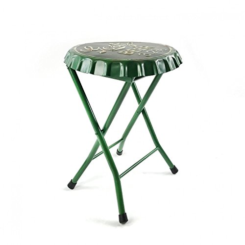 Vintage Parts 323927 Folding Goetz Beer Bottle Cap Stool or Side Table