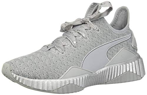 (PUMA Women's Defy Sneaker QuarrySilver 6.5 M US)