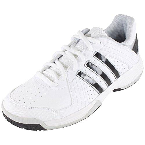 Womens Approach Tennis Shoes (adidas Performance Response Approach K Tennis Shoe (Little Kid/Big Kid), White/Black/Light Grey, 10.5 M US Little Kid)