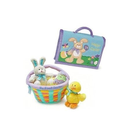 Amazon my first easter basket photo album gift bundle toys my first easter basket photo album gift bundle negle Gallery