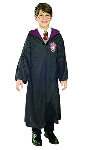 Child Harry Potter Gryffindor Costume-- Hooded Robe, Clasp, & Glasses Size Small4/6