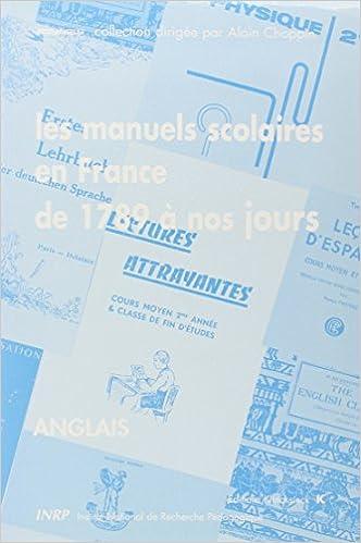 Les Manuels Scolaires En France De 1789 A Nos Jours 8 Les