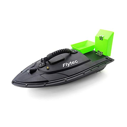 Lcyus Fishing Bait RC Boat, Fish Finder 1.5kg Loading 500m Remote Control Fishing Bait Boat (Green)