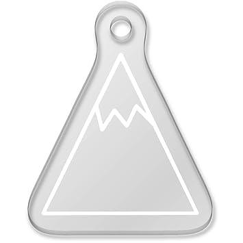 Azeeda Montaña Nevado Llavero (AK00033701): Amazon.es ...