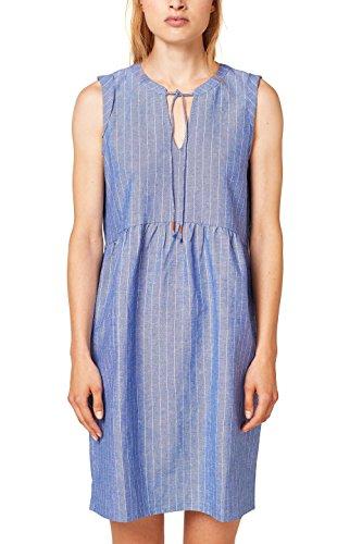 edc Grey Blue ESPRIT by Kleid 420 Damen Blau rOxfrXwq
