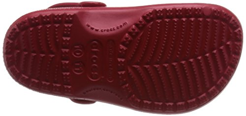 Mixte Kids Pepper Sabots enfant Rouge Classic Crocs x0pTtqAw