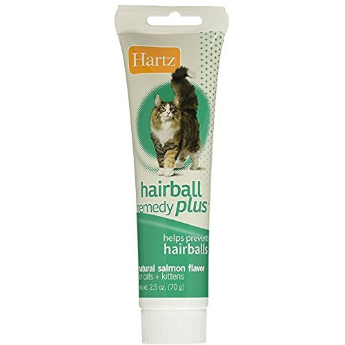 Hartz Hairball Remedy Plus Paste for Cats 2.50 oz(Pack of 6)