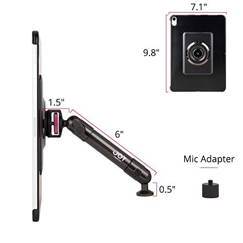 The Joy Factory MagConnect Carbon Fiber Tripod/Microphone Stand Mount for iPad Pro 11'' (MMA7001) by The Joy Factory (Image #5)