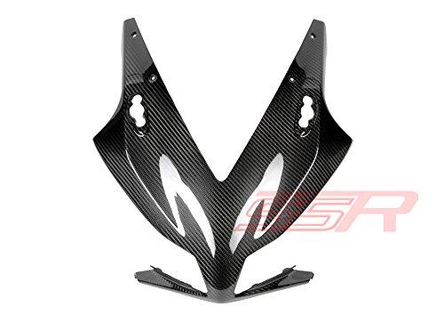(2012-2015) Honda CBR 1000RR (100%) Twill Carbon Fiber Fibre Front Headlight / Windscreen Nose Cowl Fairing Windscreens Carbon Fiber Series