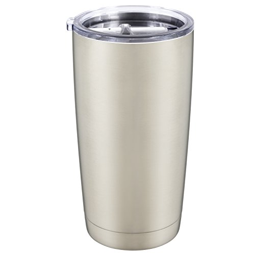 AMIR 20 oz Tumbler, Vacuum Insulated Tumbler with Anti-splash Lid, Stainless Steel Travel Water Cups, Double Wall Insulated, for Keeps Your Coffee/ Tea Hot and Holds Ice Longer (24h Ice Retention)