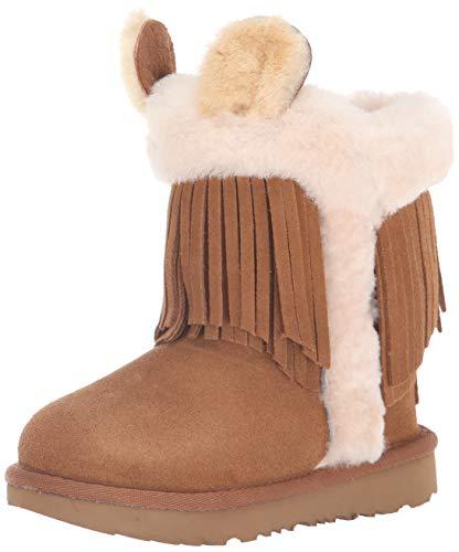 UGG Kids Darlala Classic II Boot, Chestnut, Size 5 M US Big Kid ()