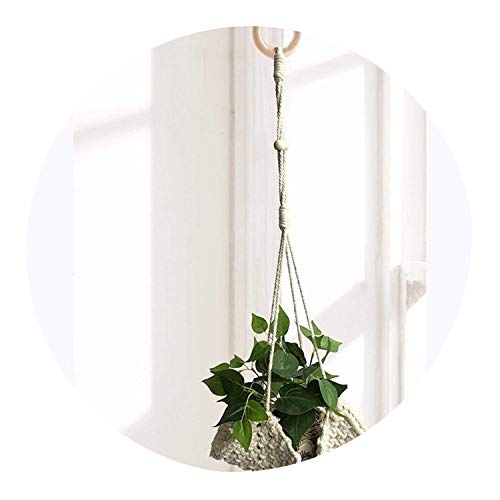 100% Handmade Plant Hanger Flower/Pot Hanger for Wall Decoration Courtyard Garden,023