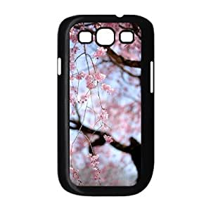 Custom Cover Case with Hard Shell Protection for Samsung Galaxy S3 I9300 case with Beautiful cherry blossoms lxa#473597 WANGJING JINDA