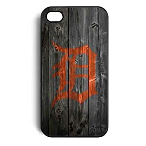 Detroit Tigers Snap on Case Cover for Apple Iphone 4 Iphone 4s Cellphone Case