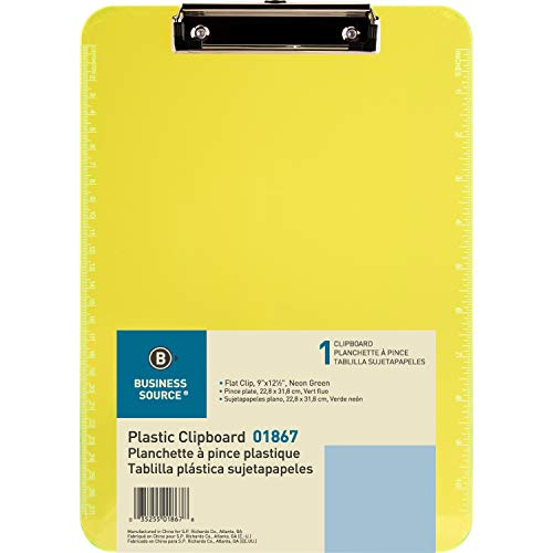 Sparco Transparent Clipboard, neon green (Sparco Magazine Holder)