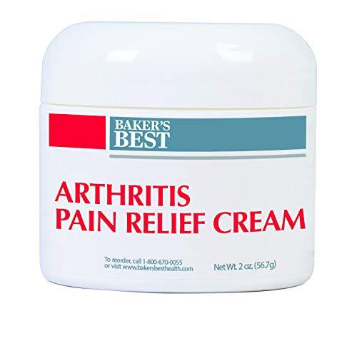 Baker's Best Arthritis Pain Relief Cream - arthritis cream, pain relief, topical numbing cream - Methyl Salicylate, Menthol, Lidocaine, Aloe Vera Gel, Emu Oil, Glucosamine Sulfate, MSM - 2 oz