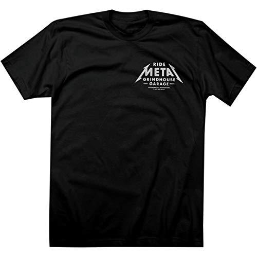 Twin Six Ride Metal T-Shirt - Men's Black, L