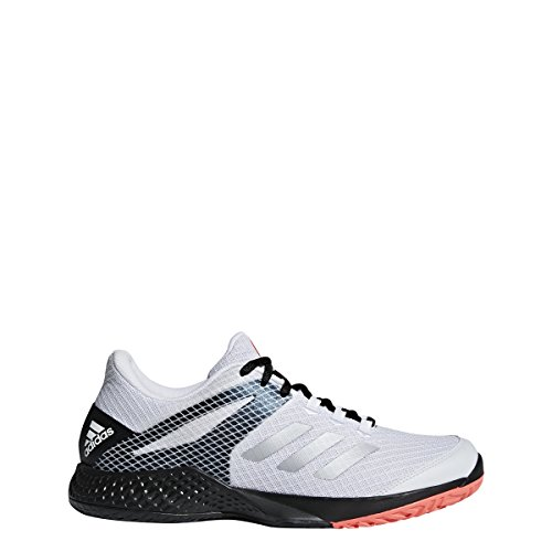 Pictures of adidas Men's Adizero Club 2 White/ AH2108 White/Matte Silver/Black 1