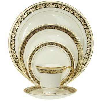 Pickard Harvest Leaf 5 Piece Place Setting