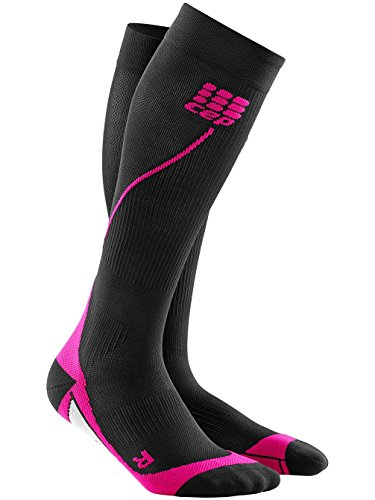 Color Mujer Calcetines Negro Para Cep Pink Schwarz wtAxEqxd4