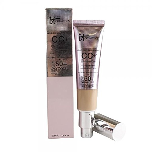 IT Cosmetics CC Illumination Cream with SPF 50+ (Light) 1.08 oz - Your Skin But Better from It Cosmetics