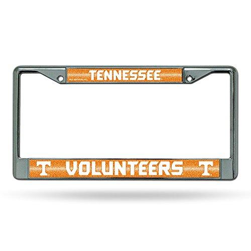 NCAA Tennessee Volunteers Bling Chrome Plate (Tennessee Volunteers Truck)
