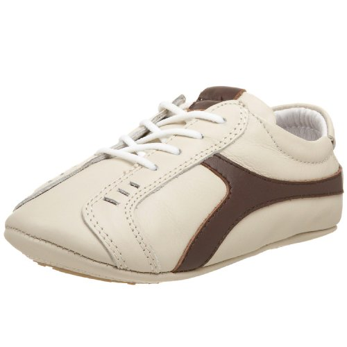 ShooFoo Infant Troels Baby Tennis Shoes,Cream/Brown,Small...