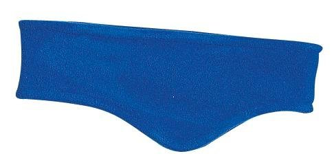 Stretch Fleece Headband, Color: Royal, Size: One Size