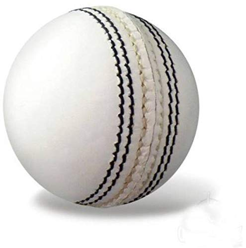 Azone One Star Cricket Ball   Size: 4  Pack of 1, Red, White