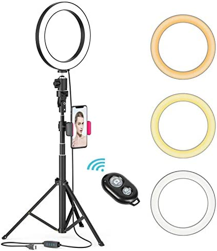 YouTube Dimmable Ringlight Temperature 3000K 5000K product image