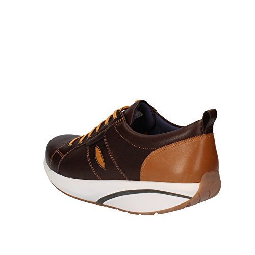 MBT Sneakers Herren Leder (42 EU, Dunkelbraun)