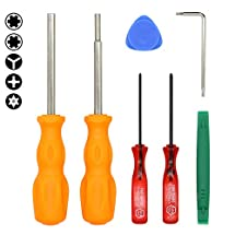 E.Durable Professional Nintendo Products Full Tool Kit, Security Screwdriver Game Bit Set