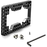 SmallRig Top Plate for Camera Sony FS7 FS7II Mounting with Standard 1/4 & 3/8 Threaded Holes, Black --- 1586