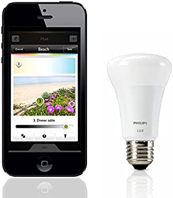 Philips Hue Bombilla LED E27, 9 W: Amazon.es: Iluminación