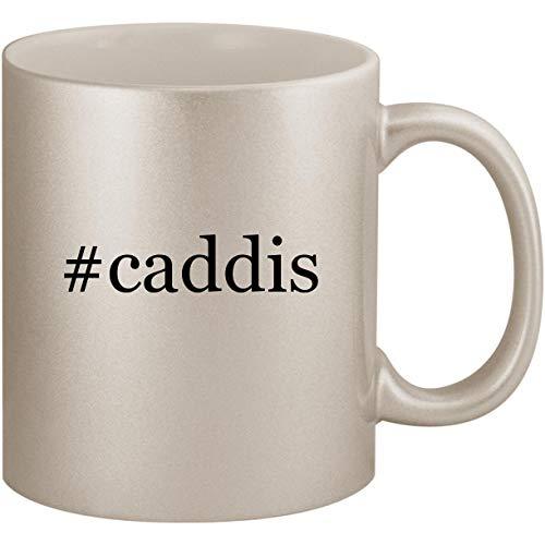 #caddis - 11oz Ceramic Coffee Mug Cup, Silver