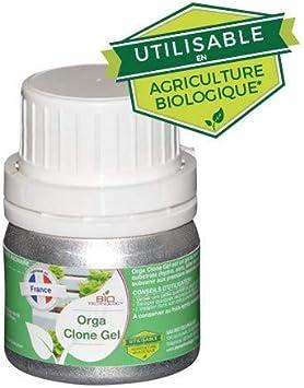 Bio Technology® | Gel de Hormonas de Enraizamiento de Alto Rendimiento | Hormona de Corte en Gel Biológico Orgánico Usar en Agricultura Orgánica | ORGA Clone Gel (50ml)