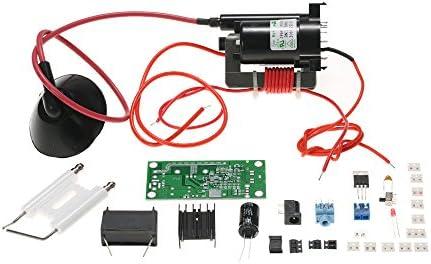KKmoon 20KV ZVS Tesla Coil Booster High Voltage Generator Plasma Music Arc  Speaker Kits Driver Board DIY Kit + Ignition Coil + Spray Point