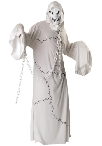 Coolest Halloween Costumes For Adults (Rubie's Costume Ghoul Costume, White,)