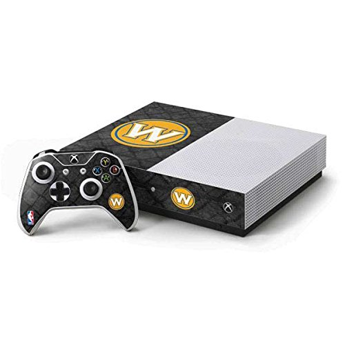 Golden State Warriors Xbox One S Console and Controller Bundle Skin - Golden State Warriors Dark Rust | NBA & Skinit Skin