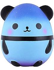 Anboor Squishies Panda Egg Jumbo Squishy Slow Rising Squeeze Toys Geurende Kawaii Squishies Animal Toy voor kinderen Volwassenen 1 stuk (Galaxy)
