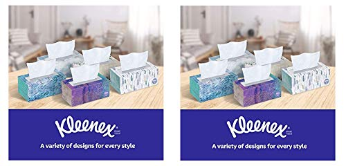 Kleenex Ultra Soft Facial Tissues, (8 Pack, 110 Tissues per Pack,)