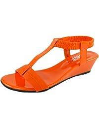 Image-69 T-Strap Wedge Sandal